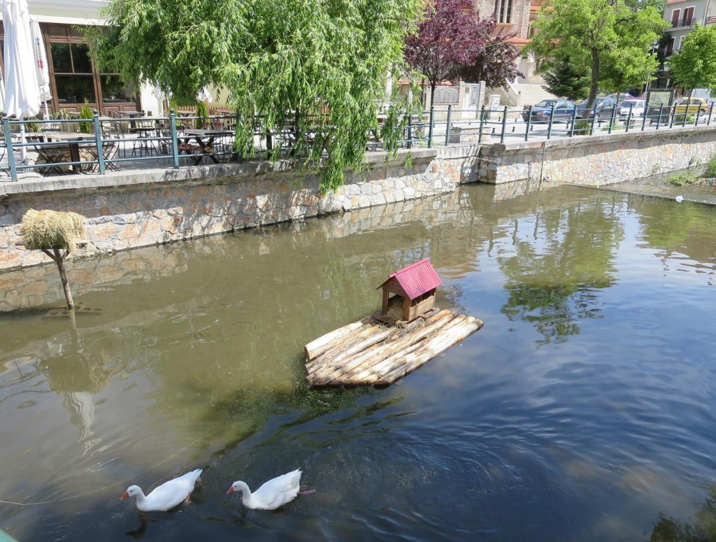 Duck houses in Florina