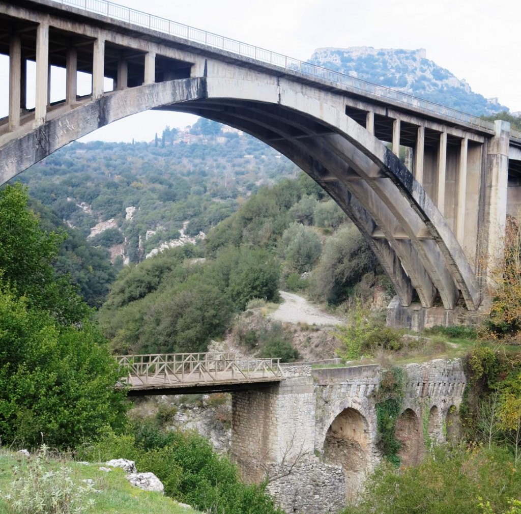 Both bridges at Karitena