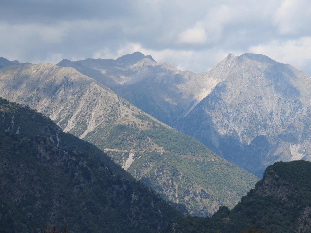 View from Mavrovouni camp site