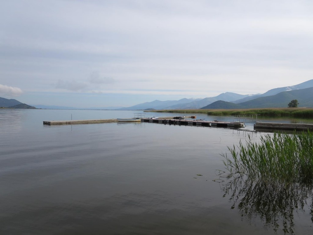 Lake Prespa from Mikrolimni